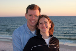 Picture of Jess and Rick at Seaside, Florida